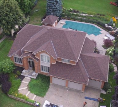 Replacement Roof for Residence & Pool House, St.Andrews, Brantford