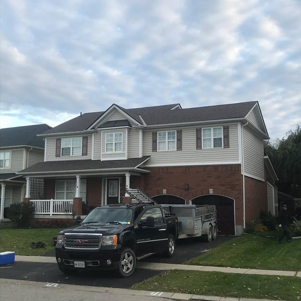 Repaired Residential Roof, Osborn, Brantford